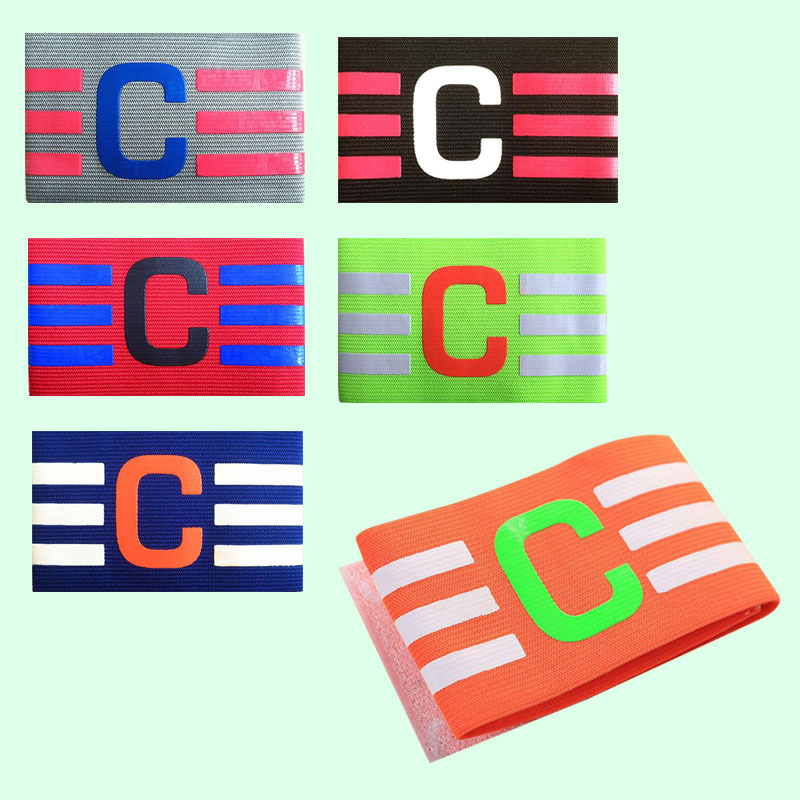 Football Captain Armband Soccer Skippers Armbands Hockey Rugby Sports