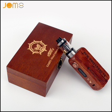 Kamry 80w UTC Wooden Box Mod Electronic Cigarette 7-80w 18650 VW Battery Mod with Temperature Control and OLCD Screen Jomo-122