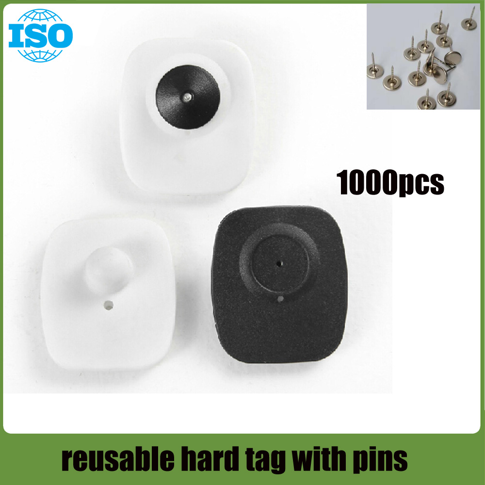 supermarket reusable security tag with compatible pinsX1000 piece