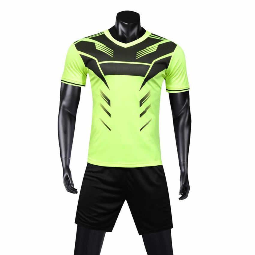 Для мужчин Трикотаж s набор футбольный трикотаж тренировочный костюм форма  спортивный комплект костюмы Maillot De Foot 9d70967450d
