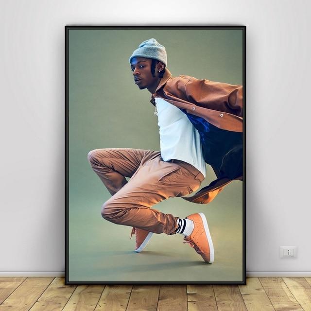 Joey Badass Art Silk Fabric Psychedelic Poster Print Wall