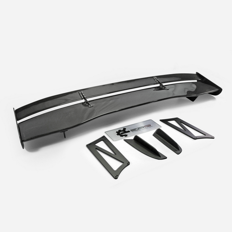For Evolution EVO10 VC Style Carbon Fiber 1700mm Type 5 Rear Wing 39cm height stand Spoiler Accessories in Spoilers Wings from Automobiles Motorcycles