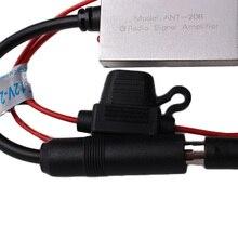 FM Усилитель сигнала Автомобильная антенна радио авто усилитель сигнала FM Усилитель автозапчасти 88-108 МГЦ 12 в автозапчасти