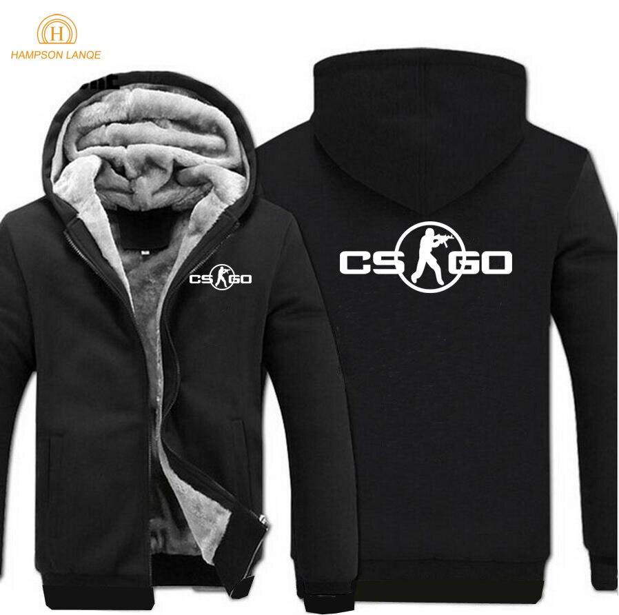 Hot Sale Game Hoodie 2018 Spring Winter Warm Fleece Gamer Sweatshirt Caual Men Hoodies Fashion Mens Coat Jacket For Adult M-5XL