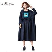 BelineRosa 2017 Women S Big Sizes Clothing China Vintage Shanghai Style Plus Size Dress For Women