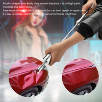 31pcs 2 in 1 Two Ways Puller Slide Hammer Tabs Suction Cup Hand of Cars Paintless Dent Repair Tools Kit Suit of Auto