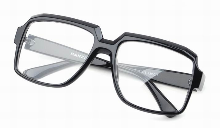 black semi rimless eyeglasses dalix mens square glasses frames