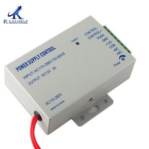 Image 2 - דלת חשמלית מנעול אספקת חשמל AC 110 240V פופולרי בקרת גישה מערכת