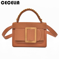 Cecelia 2017 Brand High Quality Numbuck Women Leather Bag Female Top Handle Bag Lock Lady Shoulder