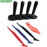 CNGZSY Film Scraper Professional Corner Squeegee Gripper Magnetic Holders Hot Selling Car Wrap Accessories For Window Tint K86