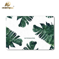 Mimiatrend Green Leaf Laptop Decal Stickers Case For Apple Macbook Air Pro Retina 11 12 13