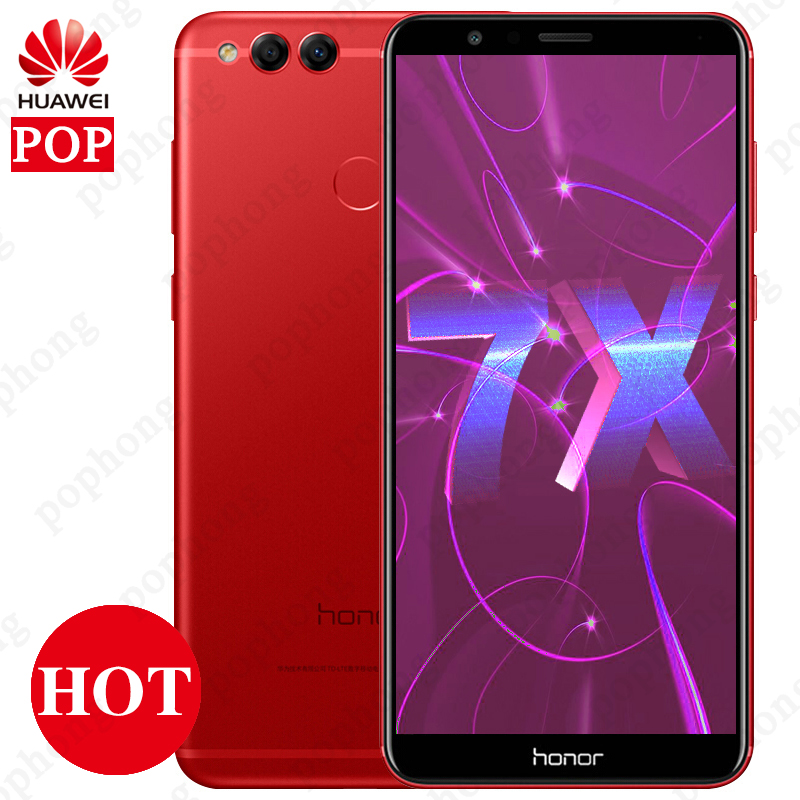 Global Firmware Huawei Honor 7X Smartphone 5 93 Full View Screen 2160 1080P Octa Core 2