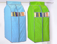 Bamboo Fiber Clothing Hanging Garment Suit Coat Dust Cover Wardrobe Storage Bag