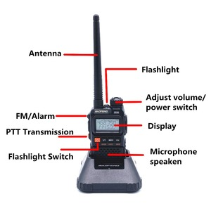 Image 2 - Baofeng UV 3R Plus Walkie Talkie Uhf Vhf Mini Uv 3R + Draagbare Cb Radio Vox Zaklamp Fm Transceiver Ham Radio amador UV3R
