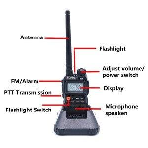 Image 2 - Baofeng UV 3R בתוספת ווקי טוקי UHF VHF מיני UV 3R + נייד CB רדיו VOX פנס FM משדר רדיו חם amador UV3R