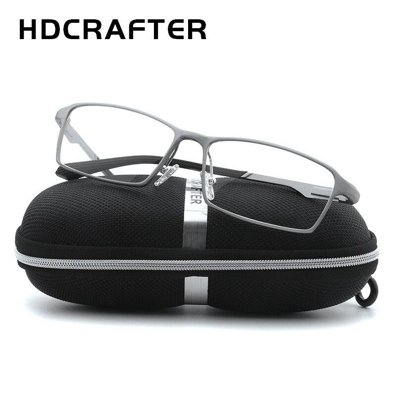 HDCRAFTER 150mm titane cadre optique recette lunettes de Prescription hommes dioptrie myopie hyperopie lunettes photochromiques lunettes - 2