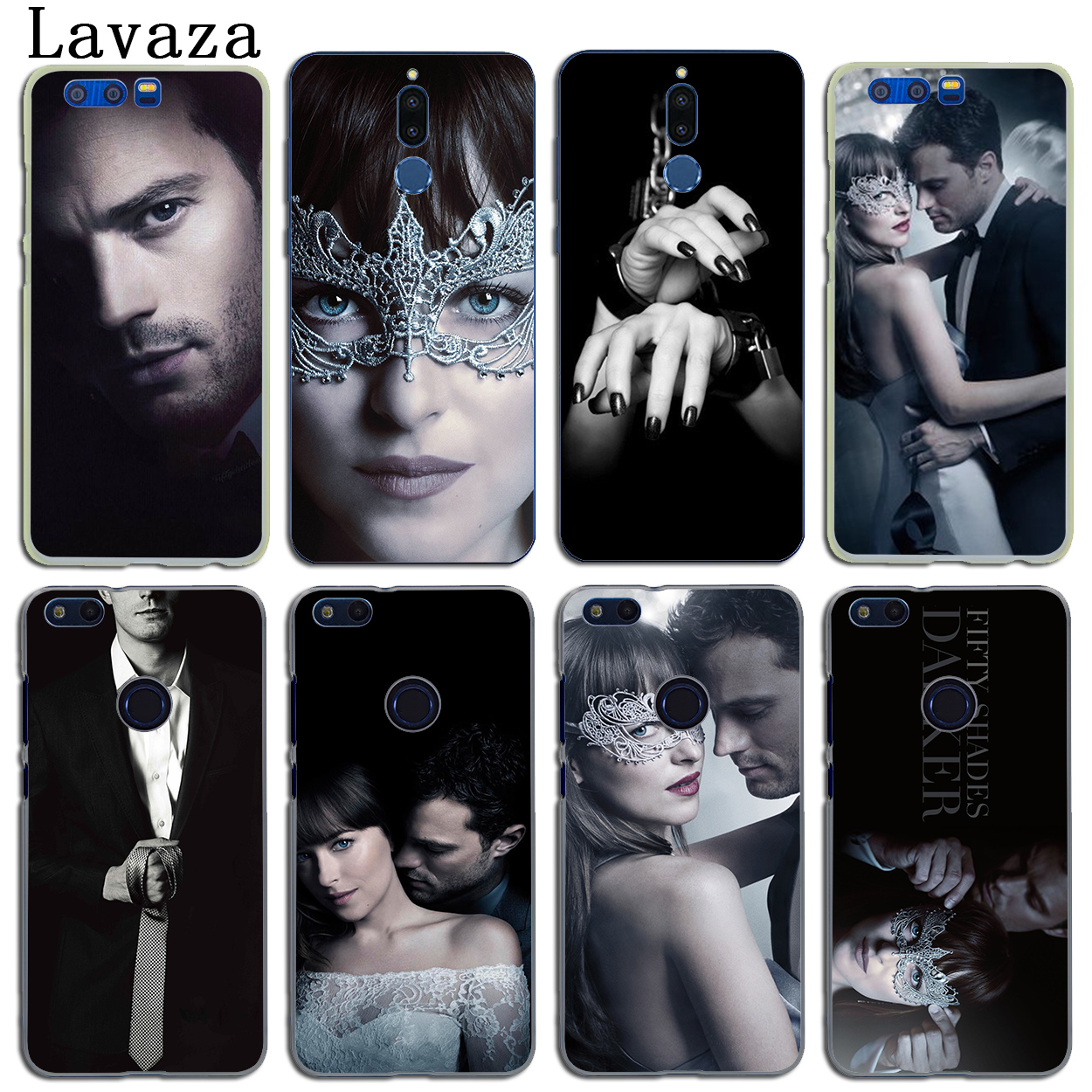 Fifty Shades Darker of grey freed Case for Huawei Y6 Y5 Y3 II Y7 2017 2018 Nova 2 Plus 2S 2i Honor 10 9 8 Lite 7 6A 7X 6X 6C Pro