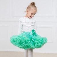 Ekstra kabarık Kız Bebek Pettiskirt Tutu Etek Lush tül tutu Bale dans Etekler Parti Dans elbise Balerin Tutu Kostüm