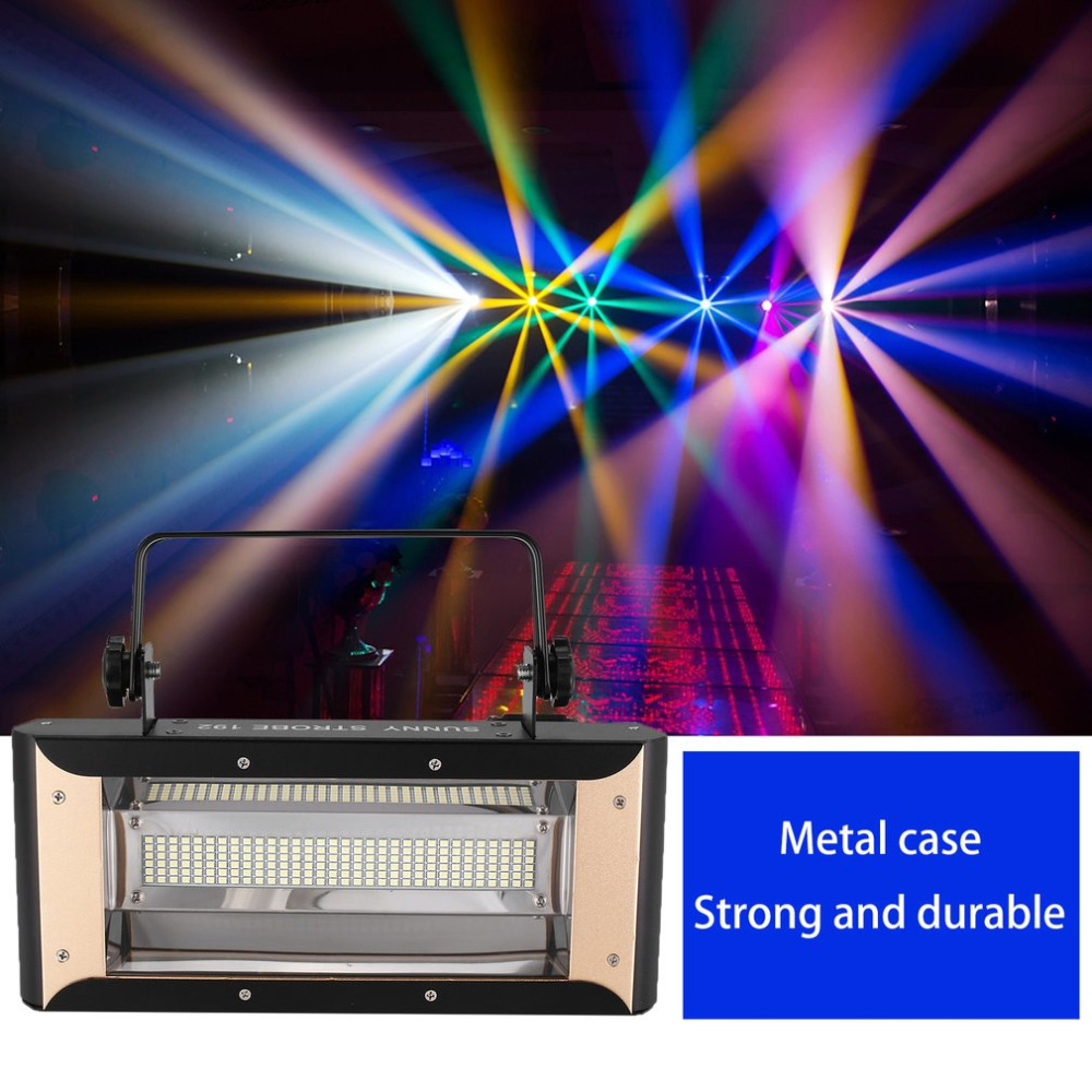 Stage Lamp LED Sun 192 Flash Light KTV Flash Lamp Bar Table lamp Dance Lamp Special Effects for Wedding Christmas HalloweenStage Lamp LED Sun 192 Flash Light KTV Flash Lamp Bar Table lamp Dance Lamp Special Effects for Wedding Christmas Halloween