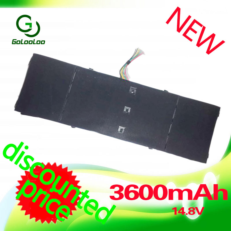 Golooloo 14.8V Laptop Battery For Acer Aspire AP13B3K AP13B8K M5-583P R7 V5-572P R7-571 V5-572G original new al12b32 laptop battery for acer aspire one 725 756 v5 171 b113 b113m al12x32 al12a31 al12b31 al12b32 2500mah