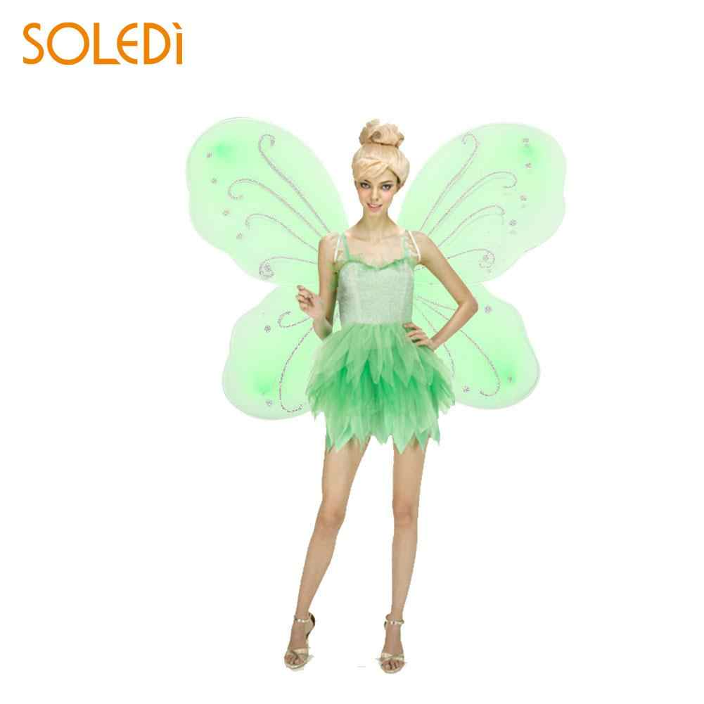 1e4026af7d98 NEW Elf Fairy Wing Dress Up Butterfly Wings Beautiful 10 Color 42*31cm  Adult DIY