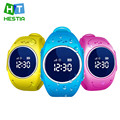 Hestia smart watch niños kid reloj de pulsera gps tracker inteligente acecha anti-perdida smartwatch q520s usable para ios android