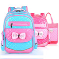 2-6 Grade Mochilas Schoolbags 2016 NEW Children School Bags For Girls PU Backpack Kid Bag Girl Schoolbook Bag Gift Bags