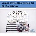 Бесплатные DHL корабль Z-ART Универсальный Ламбо двери петли, пригодный для Всех Автомобилей Lambo Style Door Kit 60 Градусов По Вертикали Двери