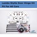 Free DHL ship Z-ART Universal Lambo door hinge fit for All Cars Lambo Style Door Kit 60 Degree Vertical Door