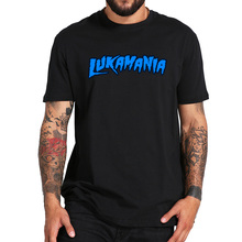 EU Size 100% Cotton T Shirt Luka Donicic Tops Luka Mania Let