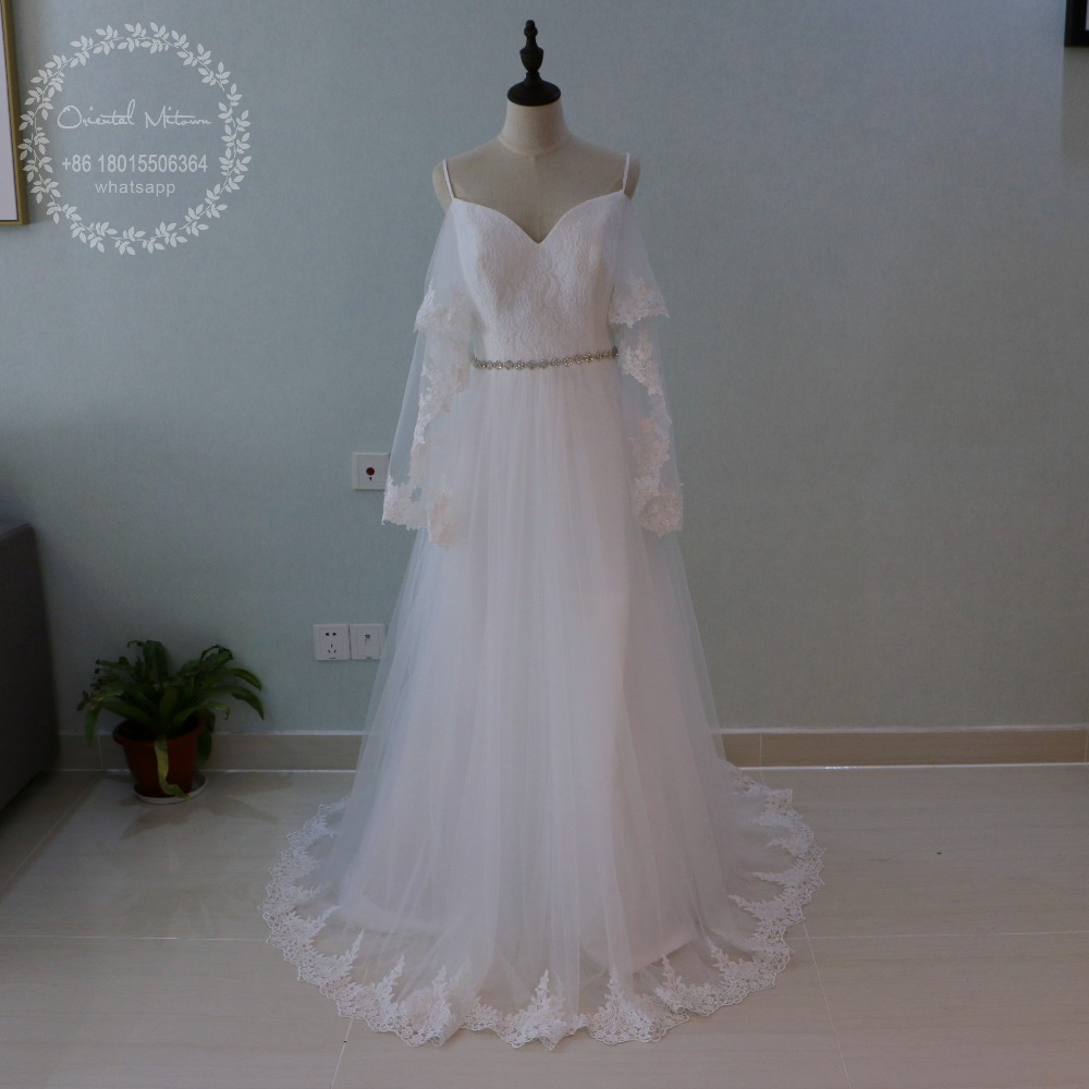 long sleeve wedding dresses bell sleeve wedding dress Long Sleeve Wedding Dress from Rosa Clara Collection Segovia