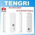 Abierto original de huawei e8231 3g 21 300mbps wifi dongle módem hspa +/hspa/umts 2100/900 mhz hasta 10 dispositivos