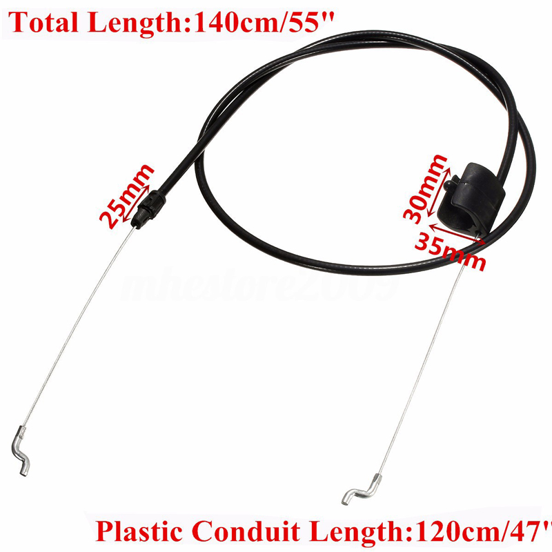 Brake Control Cable Garden Lawn Mower Brake Control Cable for Trimmer Garss Brush Cutter Parts Garden Replacement Tools 2016 new garden tools top quality charging grass trimmer portable home lawn mower with wheels trimmer grass trim level machine