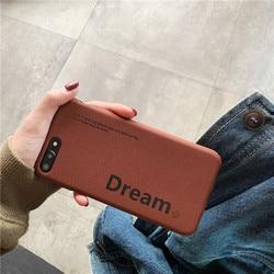 Matte TPU soft cellphone cover for iPhone Xr case iPhone Xs Max case X XS iPhone 6 6s Plus 6G 6P iPhone 7 7P 8 Plus Dream coffee 5