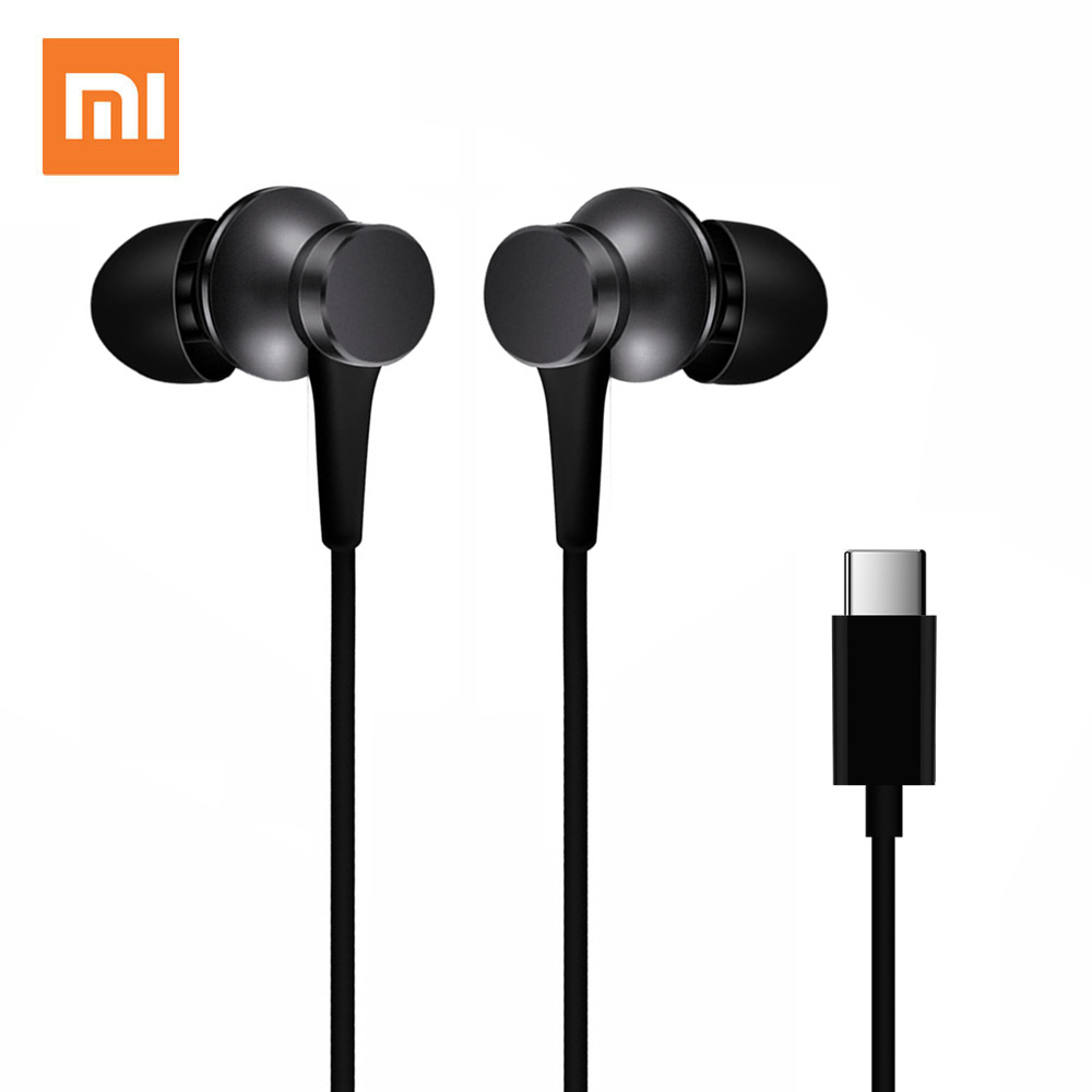 Xiaomi Piston 3 Earphones USB Type C Mi Piston Fresh Edition Earphone Headset with Mic for