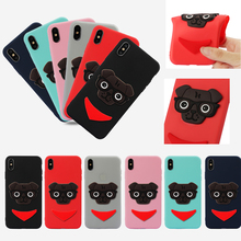 Luxury Anti-scratch Cat Dog Patch Style Phone Soft TPU Silicone Cover Case Shell Coque Capa Fundas for Apple iPhone X XS MAX XR