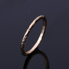 Concise Three Rounds Finger Rings Rose Gold Colour Fashion Brand Ring Jewellery/Jewelry For Women Wholesale free shipping(China)