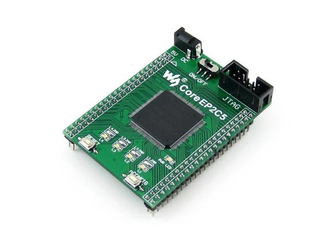 Módulo CoreEP2C5 = EP2C5 ALTERA Ciclón II chip EP2C5T144C8N FPGA Core Junta de Desarrollo Evaluación con Plena IO Expansores