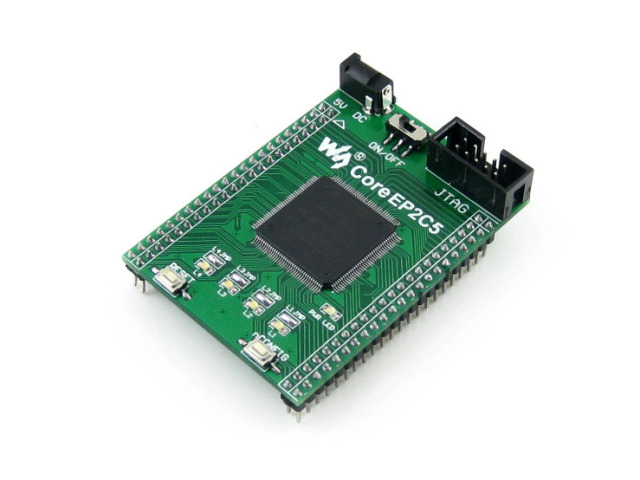 module CoreEP2C5= EP2C5 ALTERA Cyclone II chip EP2C5T144C8N FPGA Evaluation Development Core Board with Full IO Expanders