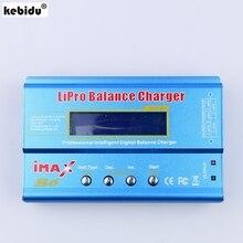 Kebidu equilibrador de bateria digital, imax b6 lipo, nimh, li ion, ni cd, rc, carregador de bateria para modelo rc modo re peak