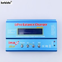 Kebidu equilibrador de bateria digital, imax b6 lipo, nimh, li-ion, ni-cd, rc, carregador de bateria para modelo rc modo re-peak