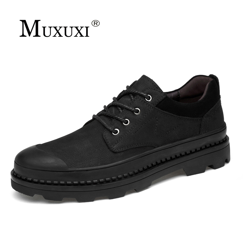 2018 Spring Comfortable outdoor Casual Shoes ,Men Genuine   Leather   Men's Shoes,Handmade Oxfords,  Suede   Moccasin Shoes Zapatos