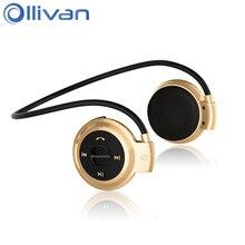Cheaper Ollivan MINI503 Bluetooth Headset Stereo Wireless Earphone Portable Headphone Sports Auriculares bluetooth For Samsung