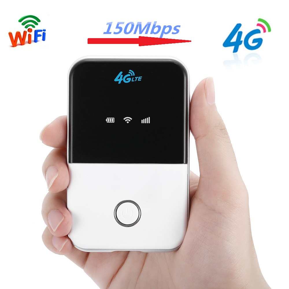 4G Lte Pocket Wifi Router 150Mbps 3G Mini Router Network Adapter Wireless Portable Pocket Wi Fi Mobile Hotspot Car Wi-Fi Router b link bl mp01 portable mini 802 11b g n 150mbps wi fi wireless router for cellphone white black