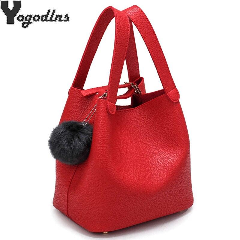 Модная женская сумка из искусственной кожи, большая женская сумка, наплечная сумка мессенджер через плечо для женщин Сумки с ручками      АлиЭкспресс
