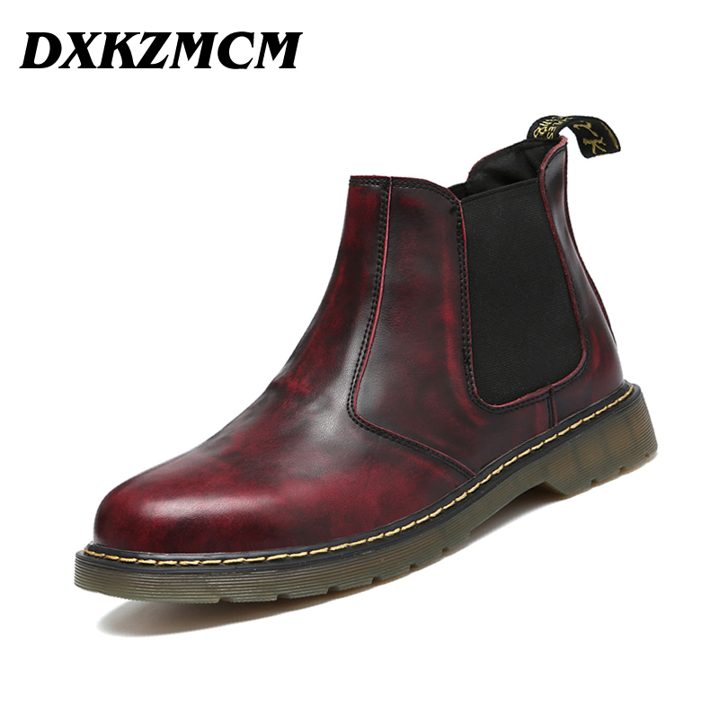 Popular Mens Boots Leather-Buy Cheap Mens Boots Leather lots from ...