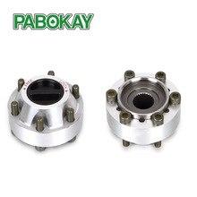 2 pieces x for Nissan  GQ, 4×4 Pick Up IFS, Patrol,90 Manual Aluminum alloy free wheel locking hubs B013 40250-01J01 4025001J01