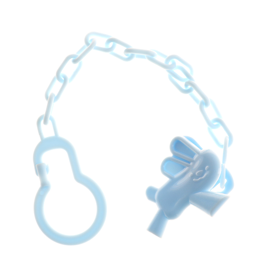 2pcs Cartoon Baby Pacifier Chain Clip Anti Lost Dummy Soother Nipple Holder