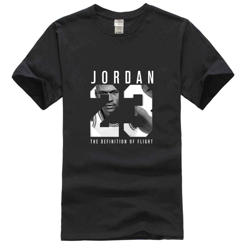 2018 New Summer James Kobe Jersey Shirt JORDAN 23 T-Shirt Student Teenager  Short Sleeve Men's(China)