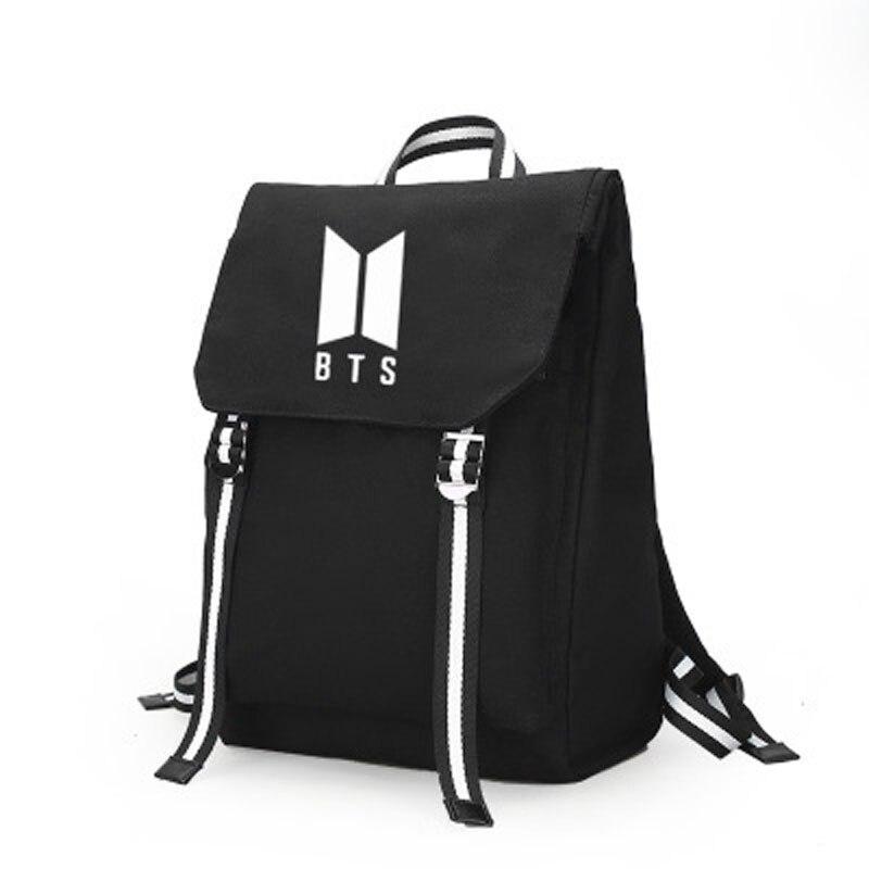 Kpop Bts Backpack Bangtan Backpack Bag School Book Zipper Bags Laptop Backpack Boy Girls Jimin Jungkook Gift Bts Accessories